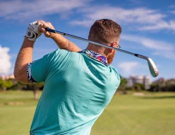 Compass Resorts Things to Do Spa & Fitness Golf Stock Photo