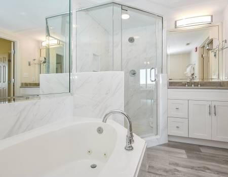 Sterling Shores 417 - AFTER Master Bathroom