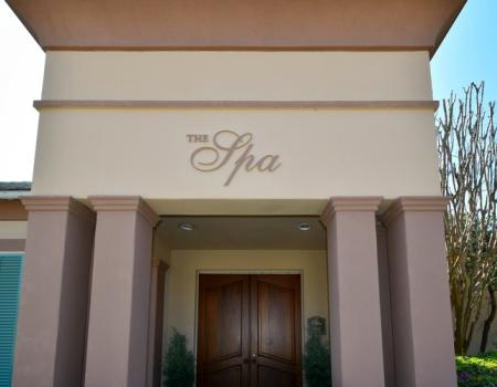 Silver Shells Spa Entrance
