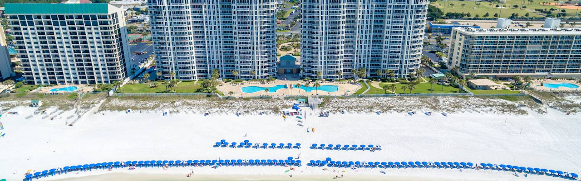 Compass Resorts Silver Beach Towers Aerial View Book Direct